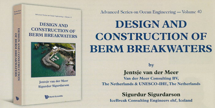 Cover book Design and construction of berm breakwaters